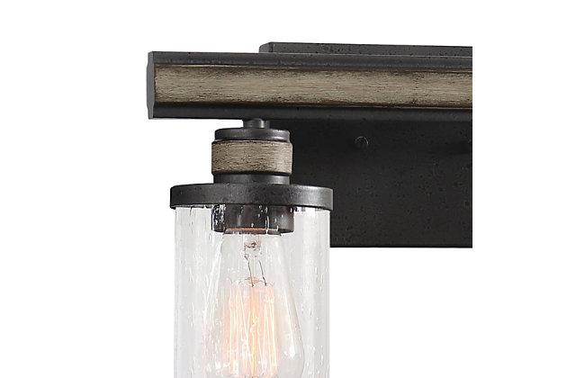 Steel Beaufort 2-Light Vanity Light, , large