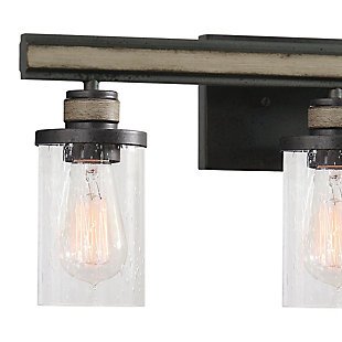 Steel Beaufort 3-Light Vanity Light, , rollover