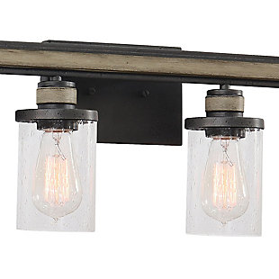 Steel Beaufort 4-Light Vanity Light, , rollover