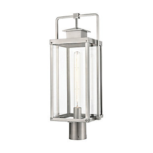 Aluminum Crested Butte 1-Light Outdoor Post Mount, , rollover