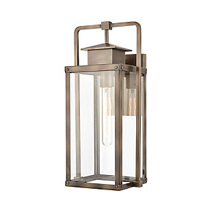 Aluminum Crested Butte Outdoor Sconce, , rollover