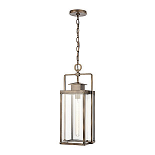 Aluminum Crested Butte 1-Light Outdoor Pendant, , large