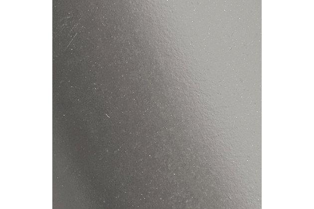 Steel Milano Wall Sconce, Gunmetal Finish, large