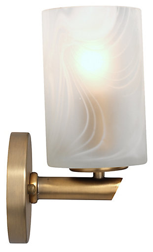 Iron Streamer Wall Sconce, , large