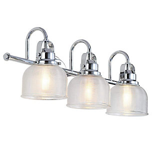 A Touch of Design A Touch of Design Rusnak 3-Light Dimmable Vanity Light, Chrome, , large
