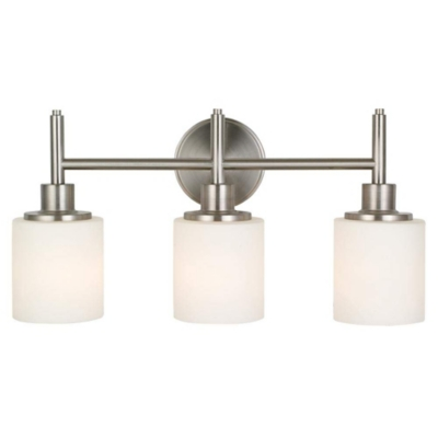A Touch of Design Millie 3-Light Dimmable Vanity Light, Satin Nickel, , large