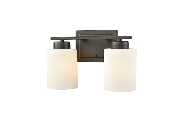 Two Light Summit Place 2 Light Bath Vanity Fixture, , large