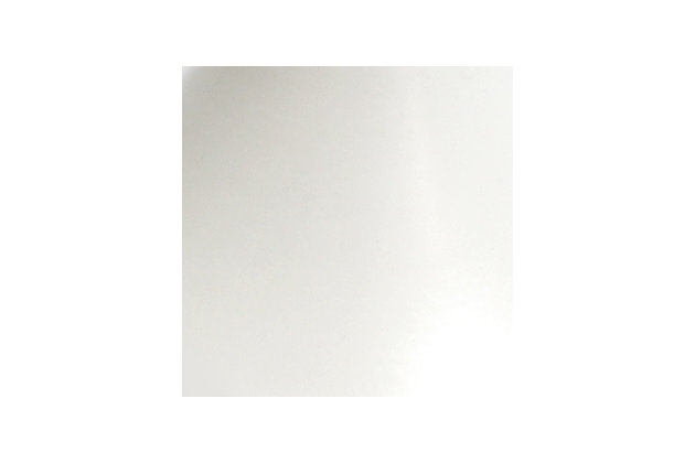 Home Accents Elegant Designs 1Light WHT Torchiere Floor Lamp w WHT Gls Shade, White, large