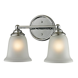 Two Light Sudbury 2 Light Bath Vanity Fixture, , rollover