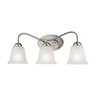 Three Light Conway 3 Light Bath Vanity Fixture, , large