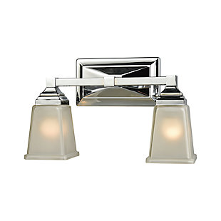 Two Light Sinclair 2 Light Bath Vanity Fixture, , rollover