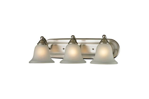 Three Light Shelburne Bath Vanity Fixture, , large