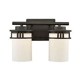 Two Light Ravendale Bath Vanity Fixture, , large