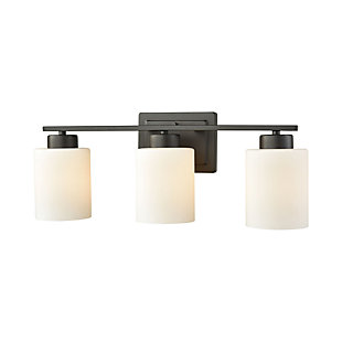 3 Light Bath Vanity Fixture, , large