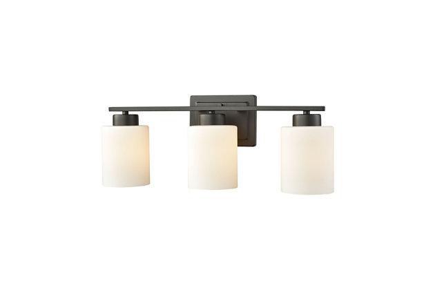 3 Light Bath Vanity Fixture, , large
