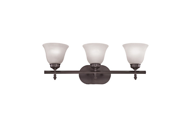 Elk Santa Fe 3 Light Bath Vanity Fixture, , large