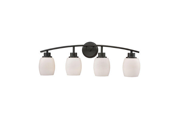 Elk Casual Mission 4 Light Bath Vanity Fixture, , large