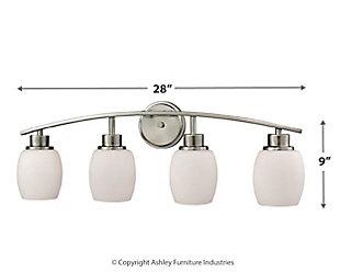 Four Light Bath Vanity Fixture, , large