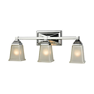 Three Light Bath Vanity Fixture, , large