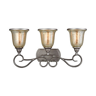 Elk Georgetown 3 Light Bath Vanity Fixture, , large