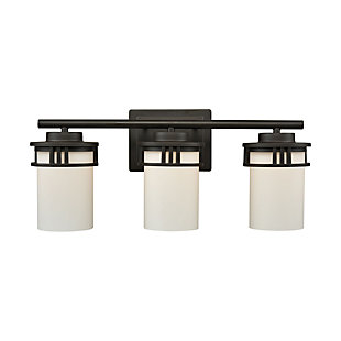 Four Light Bath Vanity Fixture, Oil Rubbed Bronze, large