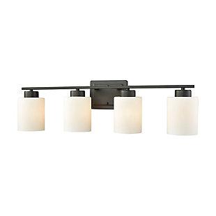 3 Light Bath Vanity Fixture, Oil Rubbed Bronze, large