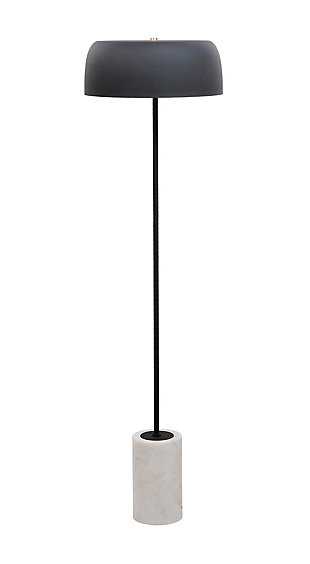 TOV Arena Marble Base Floor Lamp, , large