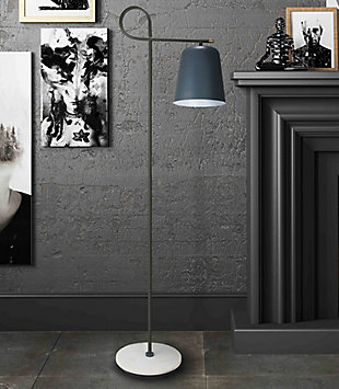 TOV Babel Marble Base Floor Lamp, , rollover