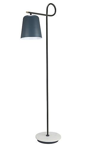 TOV Babel Marble Base Floor Lamp, , large