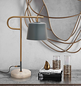TOV Babel Marble Base Table Lamp, , rollover