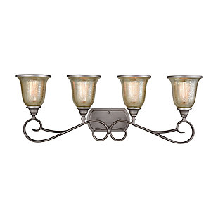 Elk Georgetown 4 Light Bath Vanity Fixture, , large