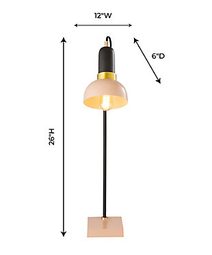 TOV Juku Blush/Gray Table Lamp, , large