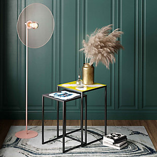 TOV Kochi Blush Floor Lamp, , rollover