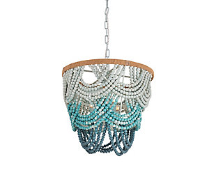 TOV Jade Beaded Chandelier, , large