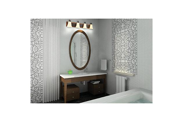 Elk Park City 4 Light Bath Vanity Fixture, , large