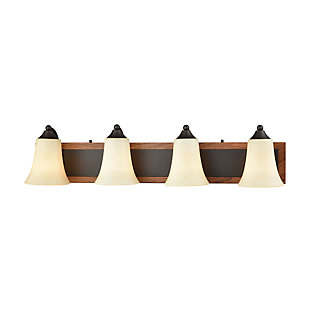 Elk Park City 4 Light Bath Vanity Fixture, , large
