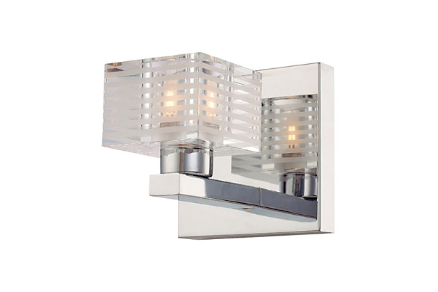 Elk Quatra 1 Light Bath Vanity Fixture, , large