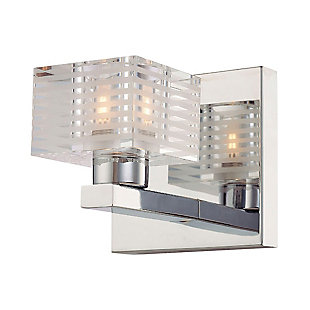 One Light Bath Vanity Fixture, , rollover
