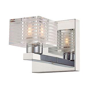 One Light Bath Vanity Fixture, , large