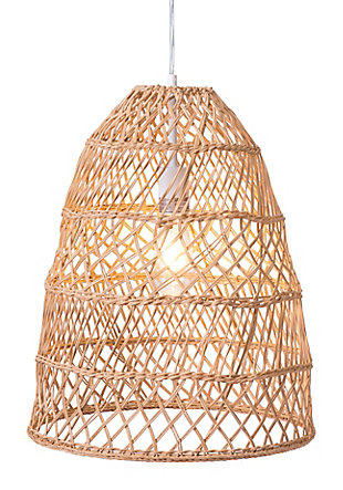 ZUO Saints Ceiling Lamp Natural, , large