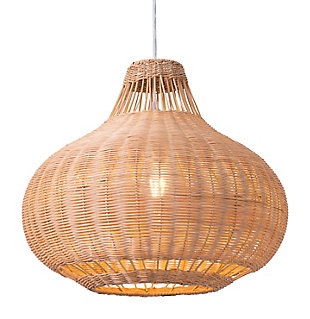 ZUO Vincent Ceiling Lamp Natural, , large