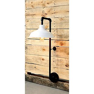 Creative Co-Op Metal Wall Sconce with Round Shade, , rollover