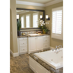 One Light Bath Vanity Fixture, , rollover