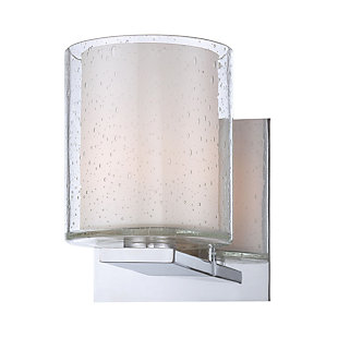 One Light Bath Vanity Fixture, , large