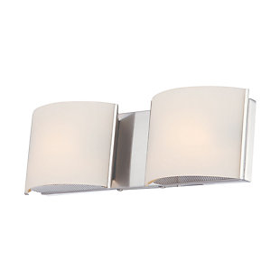 Two Light Bath Vanity Fixture, , large