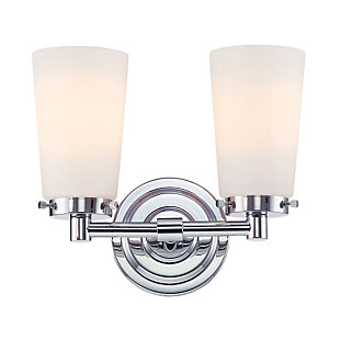 Elk Madison 2 Light Bath Vanity Fixture, , large
