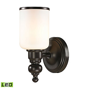 Elk Bristol Way 1 Light LED Bath Vanity Fixture, , large
