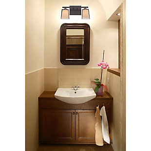 Two Light Bath Vanity Fixture, , large