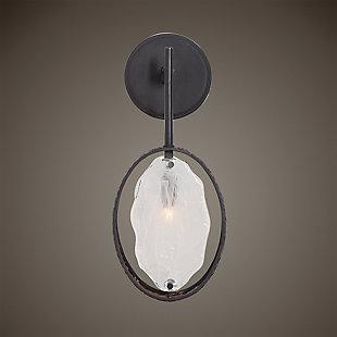 Uttermost Maxin Dark Bronze 1 Light Sconce, , rollover