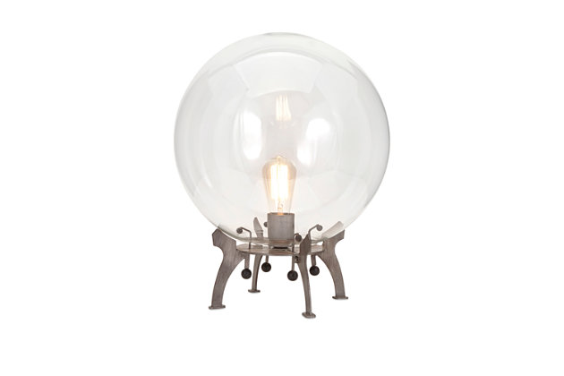 Electrode Oversized Glass Table Lamp, , large